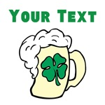 Custom Shamrock Beer