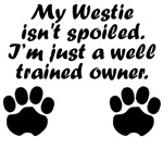 Well Trained Westie Owner