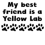 My Best Friend Is A Yellow Lab