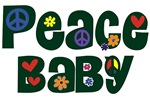 Peace Baby ~ A fun, whimsical font for peace babies of every age.