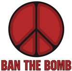 Ban the Bomb ~ Designed for the Campaign for Nuclear Disarmament... the original intent of the peace sign.