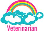 Rainbow Cloud Veterinarian