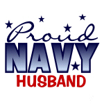 Proud Navy Husband T-shirts and Gifts