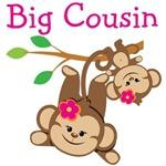 Monkeys Girls Big Cousin