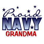 Proud Navy Grandma T-shirts and Gifts
