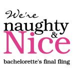 Naughty & Nice Bachelorette Party Tshirts