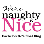 Naughty & Nice Bachelorette Party Tshirts
