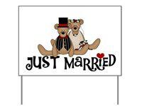 Wedding Yard Signs