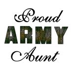 Proud Army Aunt T-shirts and Gifts