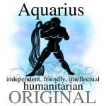 Zodiac Sign-Aquarius Water Bearer