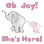 Oh Joy She's Here!