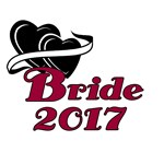 Double Hearts Bride 2017 T-shirts and Gifts
