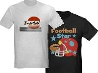 Various Sports T-shirts and Gifts