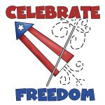 USA Celebrate Freedom T-shirts and Gifts