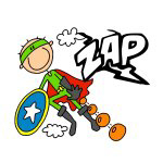 ZAP Boy Hero T-shirts and Gifts