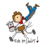 Ride 'em Cowboy T-shirts and Gifts