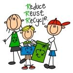Reduce, Reuse, Recycle Tshirts and Gifts