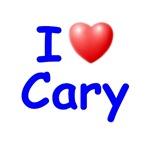 I Love Cary (Blue)