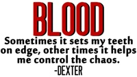 Dexter on Blood
