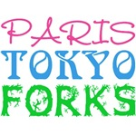 Paris Tokyo Forks Twilight T-Shirts and More!