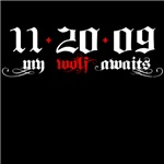 11-20-09 My Wolf Awaits New Moon T-Shirts!
