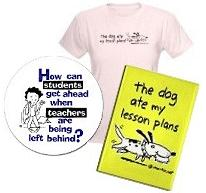 the dog ate my lesson plans!