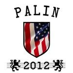 Palin 2012 US Flag T-Shirts