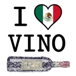 I Love Mexican Vino T-Shirts