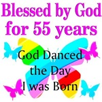 BLESSED 55 YR OLD