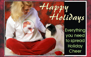 Keeshond Holiday Products