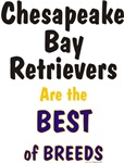 Chesapeake Bay Retriever Best of Breed Gifts Items