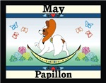 Papillon Calendar Rocking Dog Gifts Items