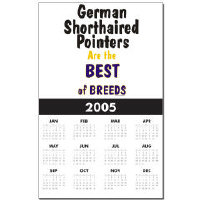 Awesome German Shorthaired Pointer Calendars