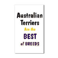 Australian Terrier Dog Stickers