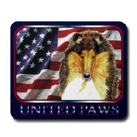 Collie Dog Clocks and Mousepads