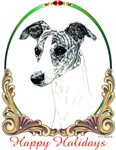 Brindle Whippet Holiday Products