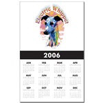 Awesome Electric Whippet Dog Calendars