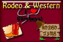 Rodeo and Western T-shirts and gifts.