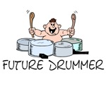 Future Drummer T-shirts and Gifts