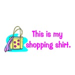 This is my shopping shirt