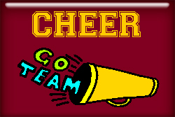 Cheer T-shirts and gifts.