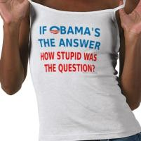 If Obama's the Answer Apparel