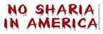 No Sharia in America!