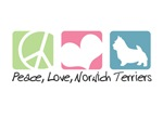 Peace, Love, Norwich Terriers