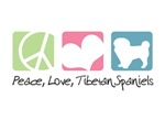 Peace, Love, Tibetan Spaniels