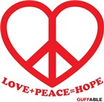 Peace+Love=Hope