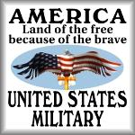 America. Land of the free because of the brave. US