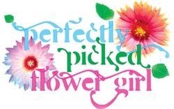 Perfectly Picked Flower Girl Blue