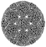 Knotwork Circle Celtic