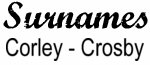Vintage Surname - Corley - Crosby